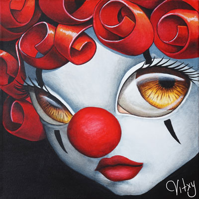 Clown close-up